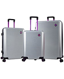 Traveler's Club 3PC Beijing Hardside Luggage Set
