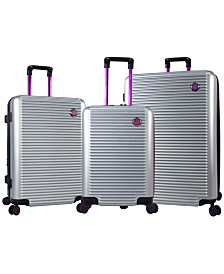 Traveler's Club 3PC Beijing Hardside Luggage Set