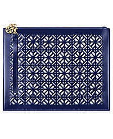Receive a Complimentary Tory Burch Pouch with any large spray purchase from the Tory Burch Fragrance Collection