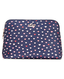 kate spade new york Watson Lane Heart Briley Cosmetic Case