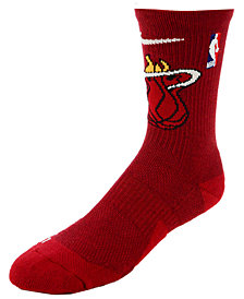 Nike Men's Miami Heat Elite Team Crew Socks