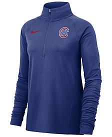 Women's Chicago Cubs Half-Zip Core Element Pullover