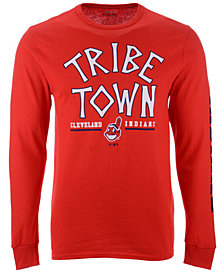 Majestic Men's Cleveland Indians Hometown Long Sleeve T-Shirt