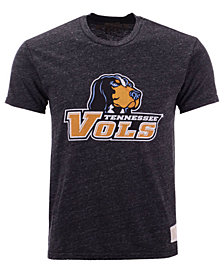 Retro Brand Men's Tennessee Volunteers Retro Logo Tri-Blend T-Shirt