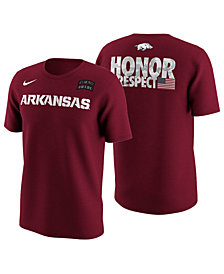 Nike Men's Arkansas Razorbacks Honor and Respect T-Shirt