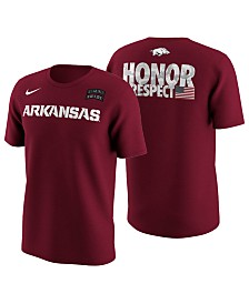 Nike Men's Arkansas Razorbacks Honor and Respect T-Shirt