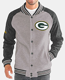 G-III Sports Men's Green Bay Packers The Ace Player Front Button Jacket