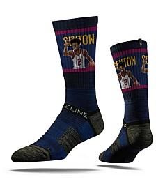 Strideline Cleveland Cavaliers Collin Sexton Action Crew Socks