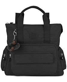 Kipling Alvy 2-In-1 Convertible Backpack Tote Bag