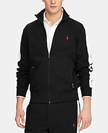 Men's Interlock Cotton Track Jacket