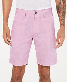 """I.N.C. Men's Linen Blend 10"""" Shorts, Created for Macy's"""