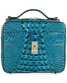Brahmin Evie Embossed Leather Crossbody