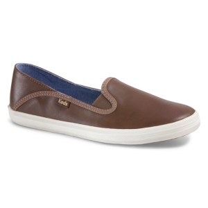 Keds WOMEN'S CRASHBACK LEATHER SNEAKERS WOMEN'S SHOES