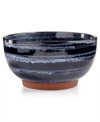 Blue Wash Vegetable Bowl