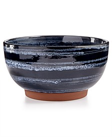 Blue Wash Vegetable Bowl