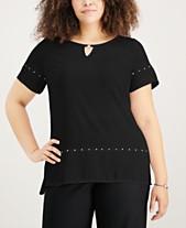 8b96846e5e44f Plus Size Dressy Tops  Shop Plus Size Dressy Tops - Macy s