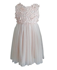 Little Girls Butterfly Tulle Dress