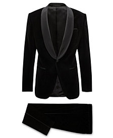 BOSS Men's Slim Fit Velvet Tuxedo