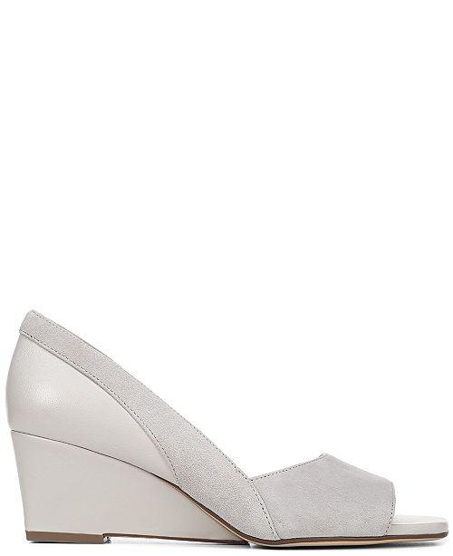 214b40c6e913 Naturalizer Zula Peep Toe Wedge Sandals   Reviews - Home - Macy s
