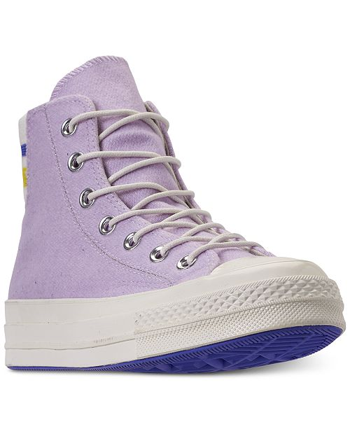 58bce12b327a0a ... Converse Women s Chuck Taylor All Star 70 High Top Casual Sneakers from  Finish ...