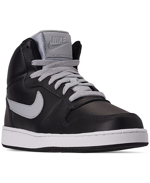 best sneakers 86f0c 131d8 Nike Men s Ebernon Mid Casual Sneakers from Finish ...