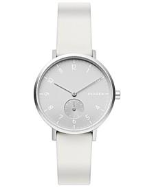 Aaren Kulor Aluminum Silicone Strap Watch 36mm