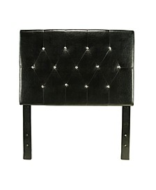 Kylen Twin Tufted Leather Headboard