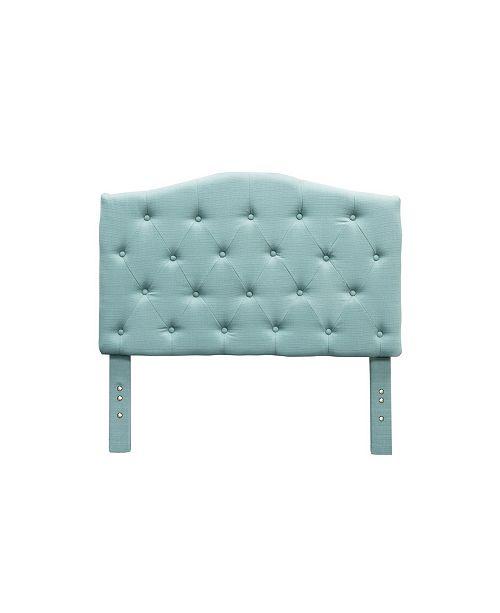 Furniture of America Saira Twin Camelback Headboard
