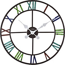 Firstime and Co. Artisan Outdoor Clock