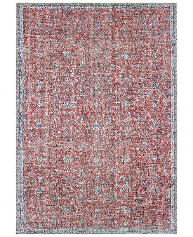 "Oriental Weavers Sofia 85813 Red/Blue 8'3"" x 11'6"" Area Rug"