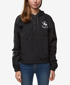 O'Neill Juniors' Water-Resistant Strikes Hooded Jacket