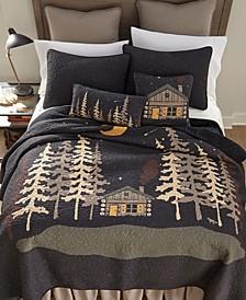 Moonlit Cabin Cotton Quilt Collection