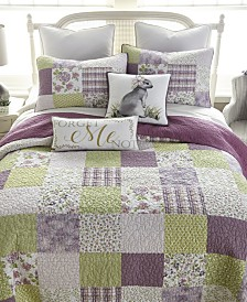 Forget Me Not Cotton Quilt Collection, King