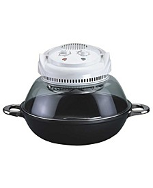 SPT Convection Oven with Wok Base - Nano-Carbon + FIR Heating