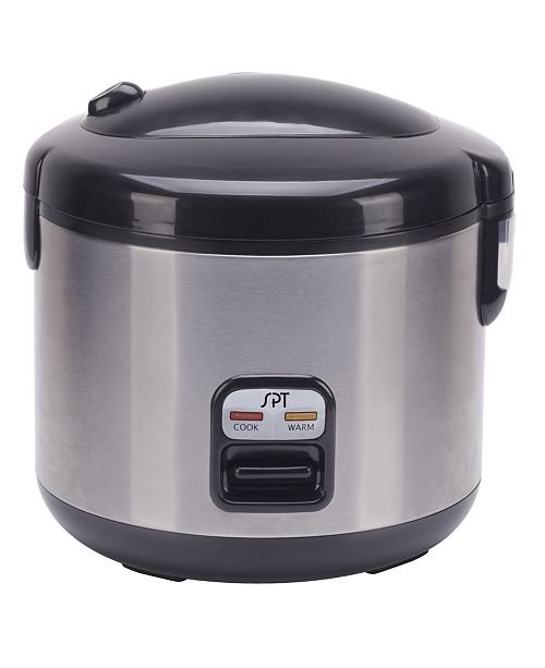SPT Appliance Inc. SPT 6-Cups Rice Cooker with Stainless Body
