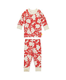 Masala Baby Organic Cotton Kids Long sleeve Pajamas Jolie