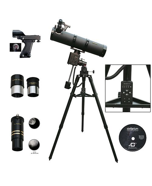 Cosmo Brands Cassini 1000 X 102 Astronomical Reflector Telescope with Motor Drive and Hand Box