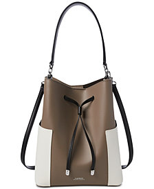 Lauren Ralph Lauren Dryden Debby Colorblocked Drawstring Bag