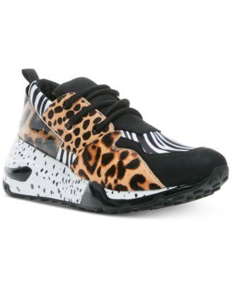 steve madden leopard sneakers best
