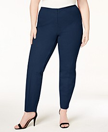 Plus Size Bi-Stretch Hollywood Skinny Pants, Created for Macy's