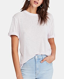 Cassidy Cuffed-Sleeve T-Shirt