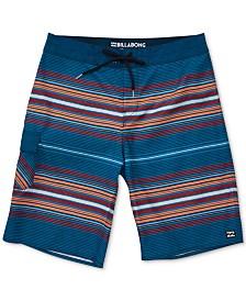 """Billabong Men's All Day Striped OG 21"""" Board Shorts"""