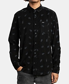 RVCA Men's Paradise Printed Shirt