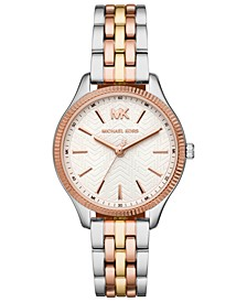 Women's Lexington Tri-Tone Stainless Steel Bracelet Watch 36mm