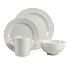 Ligne Blanc 16Pc Dinnerware Set