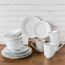 Over and Back Crest 16Pc Dinnerware Set
