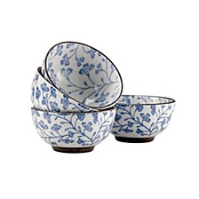 Blossom Rice Bowls - Set Of 4