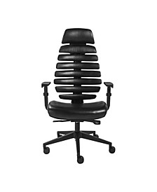 Bina High Back Office Chair with Nylon Base