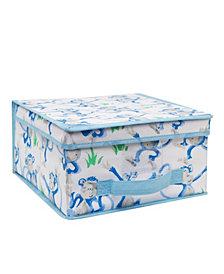 Laura Ashley Kids Medium Collapsible Storage Box in Cheeky Monkey