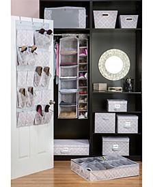 Closet Candie 6 Shelf Hanging Organizer in Ikat